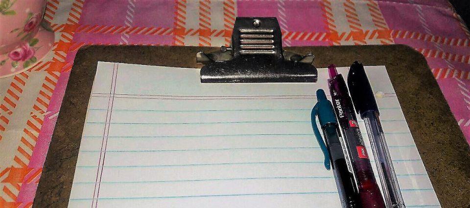 تجربه نوشتن در دفترهای قدیمی